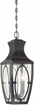 Savoy House 5-263-213 Shelton English Bronze w/ Gold Outdoor Pendant Light Fixture