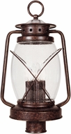 Savoy House 5-3413-56 Smith Mountain New Tortoise Shell Exterior Post Lamp