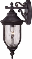 Savoy House 5-60321-186 Castlemain Traditional Black w/ Gold Outdoor 8 Lighting Wall Sconce
