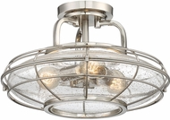 Savoy House 6-574-3-SN Connell Modern Satin Nickel Ceiling Lighting Fixture
