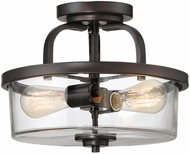 Savoy House 6-6053-2-13 Tulsa English Bronze Flush Mount Lighting