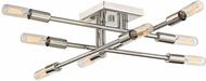 Savoy House 6-7003-8-109 Lyrique Modern Polished Nickel Home Ceiling Lighting