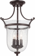 Savoy House 6-7133-3-13 Trudy English Bronze Overhead Lighting Fixture