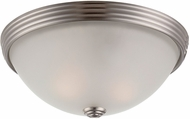 Savoy House 6-780-11-SN Flush Mount Satin Nickel 11  Ceiling Light Fixture
