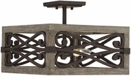 Savoy House 6-9181-4-101 Amador Noblewood w/ Iron Ceiling Light Fixture / Pendant Lighting