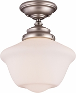 Savoy House 6-9344-1-69 School House Pendants Pewter Flush Mount Lighting Fixture