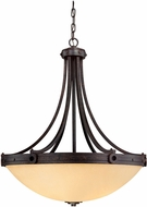 Savoy House 7-2016-4-05 Elba Oiled Copper Lighting Pendant