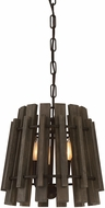 Savoy House 7-4035-3-74 Glades Weathered Wood Hanging Pendant Lighting