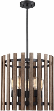 Savoy House 7-4102-5-133 Santiago Sapele Hanging Light Fixture