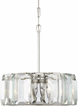 Savoy House 7-4702-6-11 Bangle Polished Chrome Drop Ceiling Lighting