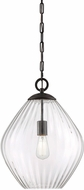 Savoy House 7-5010-1-13 Carnegie Modern English Bronze Pendant Lighting Fixture