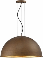 Savoy House 7-5014-3-84 Sommerton Modern Rubbed Bronze w/ Gold Leaf 24  Drop Ceiling Lighting