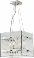 Savoy House 7-6041-4-109 Addison Polished Nickel Lighting Pendant