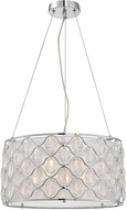 Savoy House 7-6061-3-11 Opus Polished Chrome Drum Hanging Light