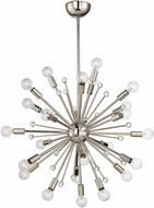 Savoy House 7-6099-24-109 Galea Contemporary Polished Nickel Hanging Chandelier