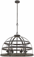 Savoy House 7-7091-6-49 Aiken Contemporary Winterwood Pendant Lamp