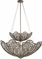 Savoy House 7-8062-12-45 Hartland Contemporary Aged Wood Pendant Lighting Fixture