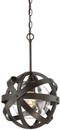 Savoy House 7-8090-1-13 Bassett Modern English Bronze Pendant Hanging Light