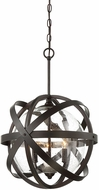 Savoy House 7-8091-3-13 Bassett Contemporary English Bronze Hanging Light Fixture