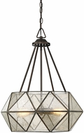 Savoy House 7-9008-4-28 Tartan Modern Oiled Burnished Bronze Drop Lighting