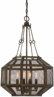 Savoy House 7-9010-4-42 Armour Modern Galaxy Bronze Ceiling Light Pendant