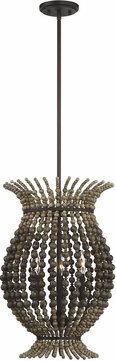 Savoy House 7-9191-3-13 Madison Modern English Bronze Hanging Pendant Light