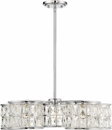 Savoy House 7-9200-5-11 Citrine Polished Chrome LED Chandelier Light