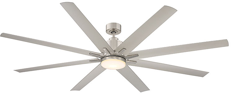 Savoy house 72 5045 8sv sn bluffton contemporary satin nickel led savoy house 72 5045 8sv sn bluffton contemporary satin nickel led home ceiling loading zoom aloadofball Gallery