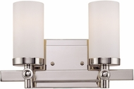Savoy House 8-1028-2-109 Manhattan Polished Nickel 2-Light Bathroom Lighting