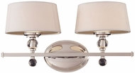 Savoy House 8-1041-2-109 Murren Polished Nickel Halogen 2-Light Vanity Lighting