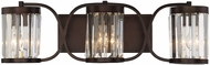 Savoy House 8-4063-3-28 Nora Burnished Bronze 3-Light Vanity Lighting Fixture
