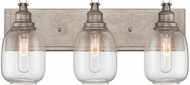 Savoy House 8-4334-3-27 Orsay Contemporary Industrial Steel 3-Light Bathroom Sconce Lighting