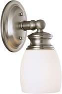 Savoy House 8-9127-1-SN Elise Satin Nickel Wall Lamp