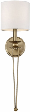 Savoy House 9-1000-1-322 Chaplin Warm Brass Wall Sconce Lighting