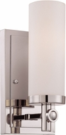Savoy House 9-1027-1-109 Manhattan Polished Nickel Light Sconce