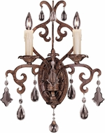 Savoy House 9-1409-2-56 Florence New Tortoise Shell Wall Light Sconce