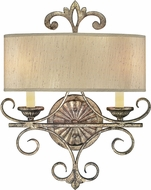 Savoy House 9-511-2-128 Savonia Traditional Oxidized Silver Wall Light Sconce