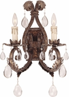 Savoy House 9-5317-2-8 Chastain New Tortoise Shell w/ Silver Wall Light Sconce