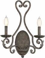 Savoy House 9-8020-2-64 Bree Traditional Fieldstone Wall Lighting Sconce