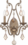 Savoy House 9-8104-2-128 Rothchild Oxidized Silver Wall Mounted Lamp