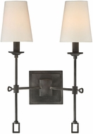 Savoy House 9-9004-2-88 Lorainne Oxidized Black Wall Lighting Fixture
