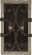 Savoy House 9-9180-2-101 Amador Noblewood w/ Iron Wall Sconce Lighting