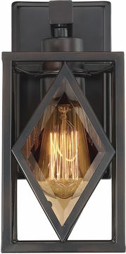 Savoy House 9-9304-1-13 Putman Contemporary English Bronze Wall Lighting Fixture