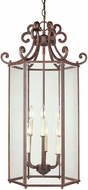Savoy House KP-3-503-6-40 Liberty Walnut Patina 17  Foyer Lighting