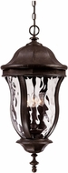 Savoy House KP-5-306-40 Monticello Walnut Patina Outdoor Drop Ceiling Lighting