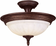 Savoy House KP-6-508-3-40 Liberty Walnut Patina Overhead Lighting Fixture