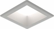 Seagull 14301S-849 Traverse Unlimited Contemporary Satin Nickel LED Indoor / Outdoor Recessed Lighting Fixture