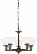 Seagull 31061EN-782 Sussex Heirloom Bronze LED Chandelier Lighting