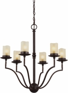 Seagull 3110606-191 Trempealeau Roman Bronze Mini Chandelier Light