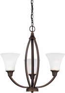Seagull 3113203EN-715 Metcalf Autumn Bronze LED Mini Hanging Chandelier